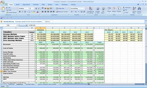 business plan template excel  images business plan