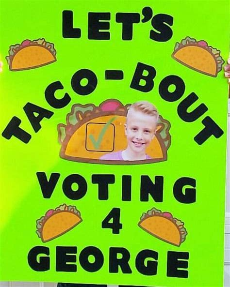 student council student council campaign posters