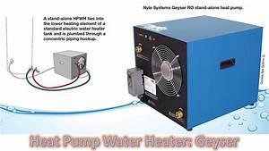 Heat Pump Water Heater  Geyser