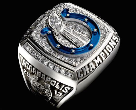 Super Bowl Xli See Every Super Bowl Ring In Detail Zimbio