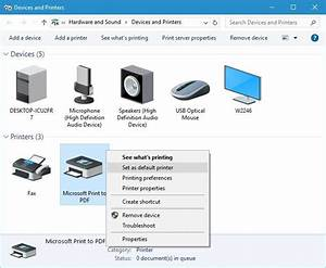 Print To Pdf Not Working In Windows 10  Quick Guide