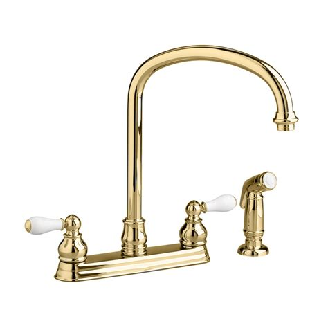 amazon com kitchen faucets 28 unlacquered brass wall mount kitchen faucet brushed