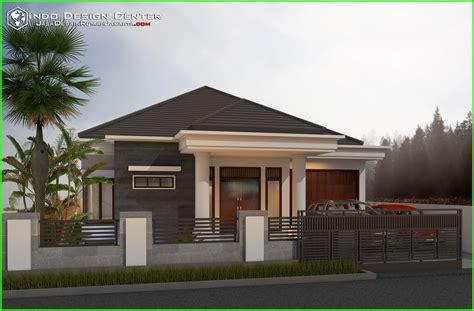 denah rumah villa sederhana rumah minimalis type