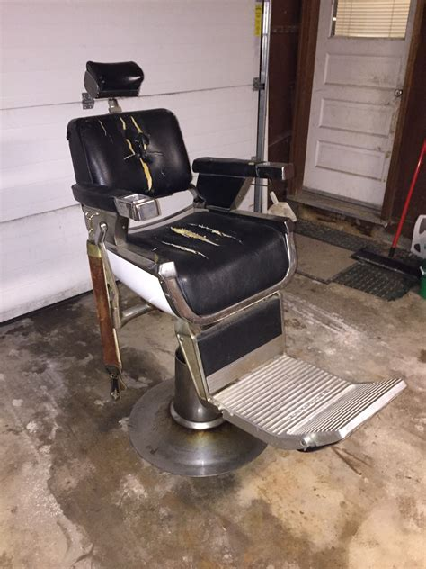 belmont vintage barber chair