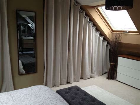 dressing chambre mansard馥 attrayant dressing dans chambre mansardee 8 rideau pour dressing sous pente hawgdays roytk
