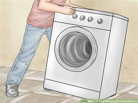 How To Fix A Shaking Washing Machine 8 Steps (with Pictures