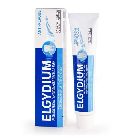 Elgydium Antybakteryjna 75ml - pasta z chlorheksydyną