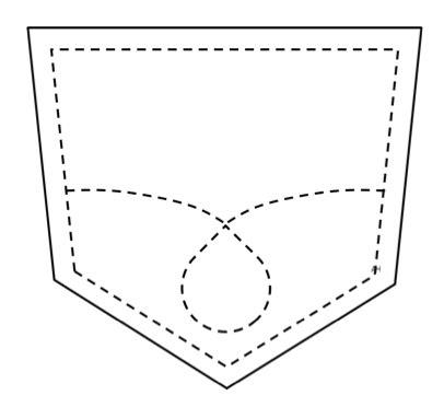 pocket folder clipart black and white pocket clipart clipart suggest