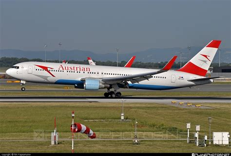 Oelat  Boeing 767300er Operated By Austrian Airlines