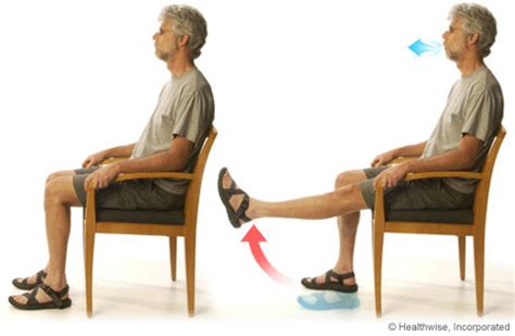 Chair Leg Lifts by Knee Extensions For Chronic Obstructive Pulmonary Disease