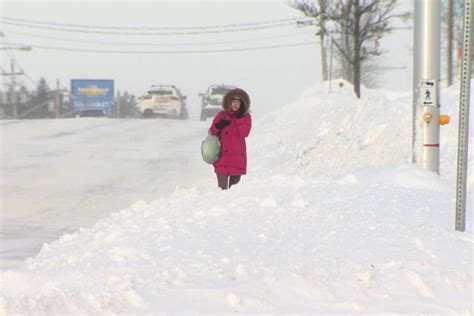 blast  winter weather knocks  power closes schools