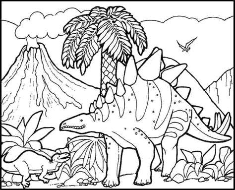 coloriages  imprimer dinosaures numero
