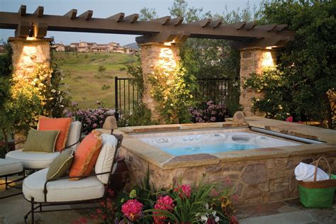 Backyard With Tub by Make Your Backyard Beautiful By Surrounding A
