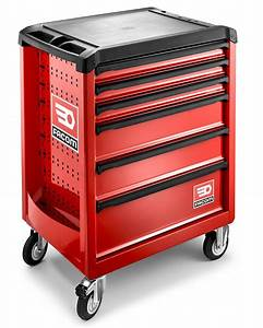 Facom ROLL 6M3 6 Drawer Mobile Roller Cabinet Red PrimeTools