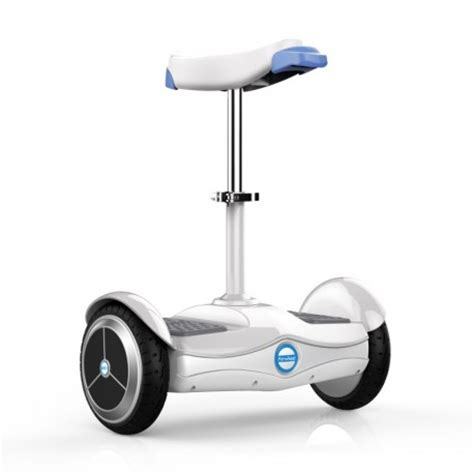 trottinette avec siege airwheel s6 hoverboard selle gyropode siège ajustable