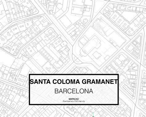 Poltrona Barcelona Bloco Cad 2d : Santa Coloma De Gramanet- Barcelona Dwg