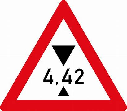 Height Restriction Sign Road Warning Signs W320