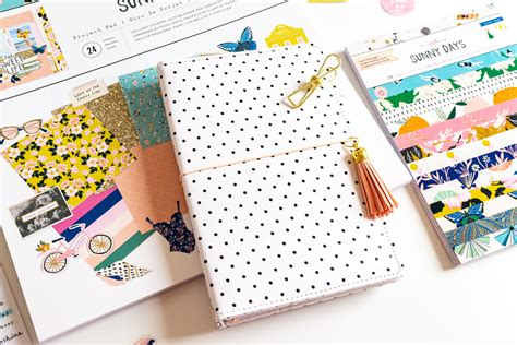 cute travelers notebook sunny days collection maggie