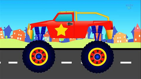 monster truck videos for kids online kids channel monster truck formation and stunts youtube