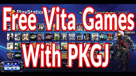 How To Get Free Games With Pkgj On Ps Vita Or Ps Tv 360