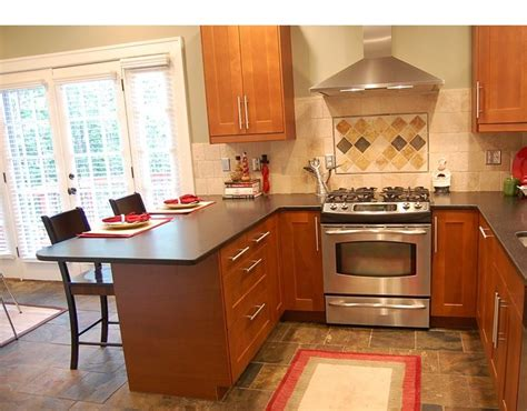 small kitchen design with peninsula small kitchen peninsula vs island remodeling in los 8055