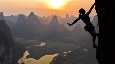 Yangshuo Rock Climbing Ultrahd Wallpaper