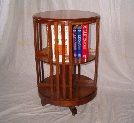 How To Build A Revolving Bookcase by Circular Revolving Bookcase 338280 Sellingantiques Co Uk