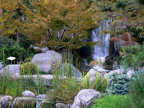 Japanischer Garten Monte Carlo by Wasserfall Im Japanischen Garten