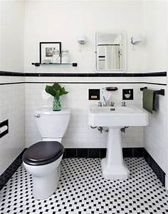 best 25 black white bathrooms ideas on pinterest With black and white bathroom tile design ideas