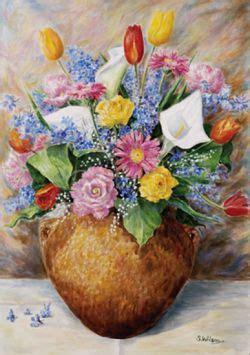 vaso di coccio fiori in vaso di coccio opera d arte di wilson