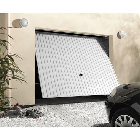 porte de garage basculante d 233 bordante primo h 200 x l 240 cm leroy merlin