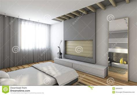 chambre à coucher grise