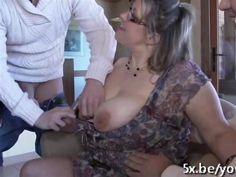 French Mature Julia Gangbanged In Stockings Videos Porno