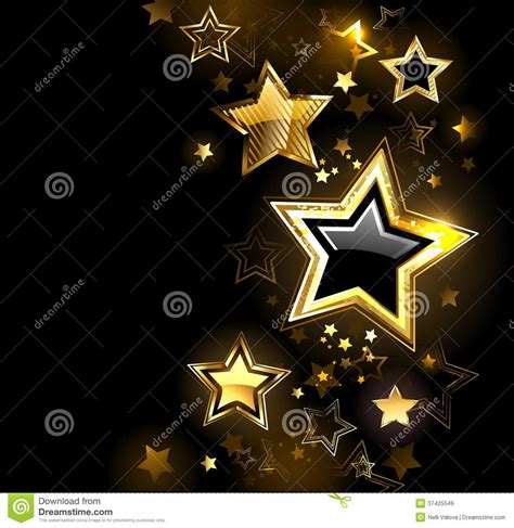 shiny gold star royalty  stock images image