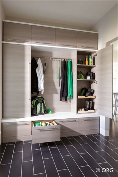 mudroom modern entry boston  inspired closets