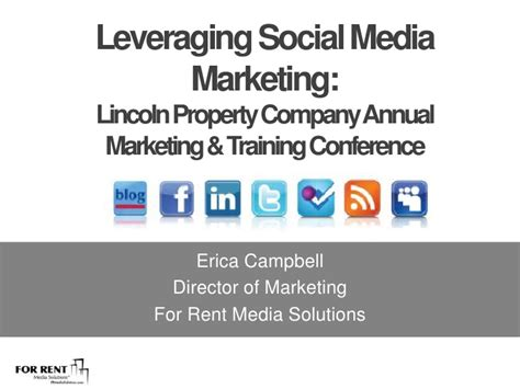 social media marketing classes leveraging social media marketing lincoln property