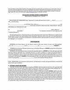 fine formal agreement template embellishment resume With lottery syndicate agreement template word