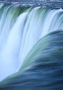 Blue Niagara Falls Waterfall