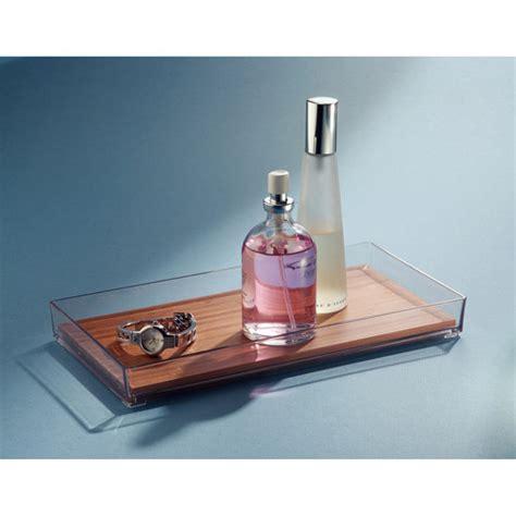 walmart bathroom vanity tray interdesign formbu vanity tray bamboo walmart
