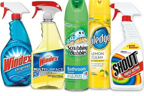 cleaning products        year