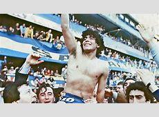 Diego Maradona Boca Juniors 1981 Goalcom