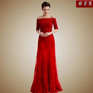 Long red dress with sleeves naf dresses for Long red dresses for weddings