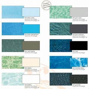 quelle couleur de liner pour votre piscine natilia avignon With couleur eau piscine selon couleur liner