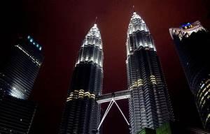 Wallpaper red, tower, city, kuala, lumpur, petronas, klcc ...