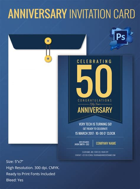 sample invitation template  premium