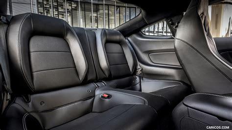 ford mustang mach  eu spec interior rear seats