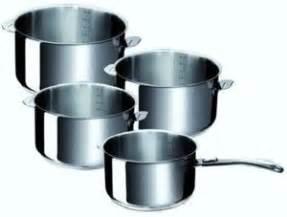 cercle inox cuisine serie 4 casseroles inox beka evolution amovible