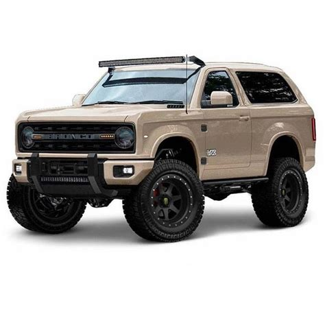 full size bronco concept wheels trucks ford bronco