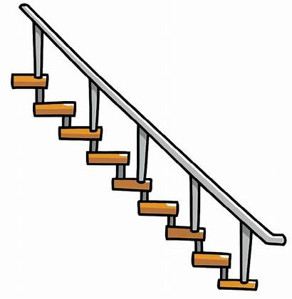 Clipart Stairs Staircase Transparent Step Stair Hanging