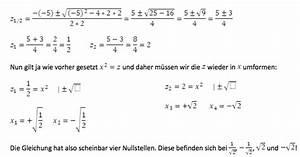 Nullstelle Berechnen Quadratische Funktion : nullstellen berechnen bzw bestimmen tipps und beispiele ~ Themetempest.com Abrechnung